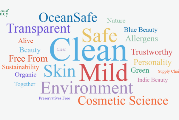 clean beauty keywords