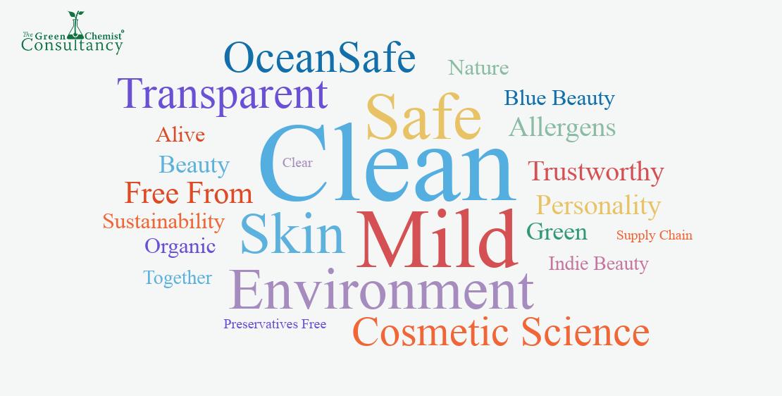clean beauty keywords
